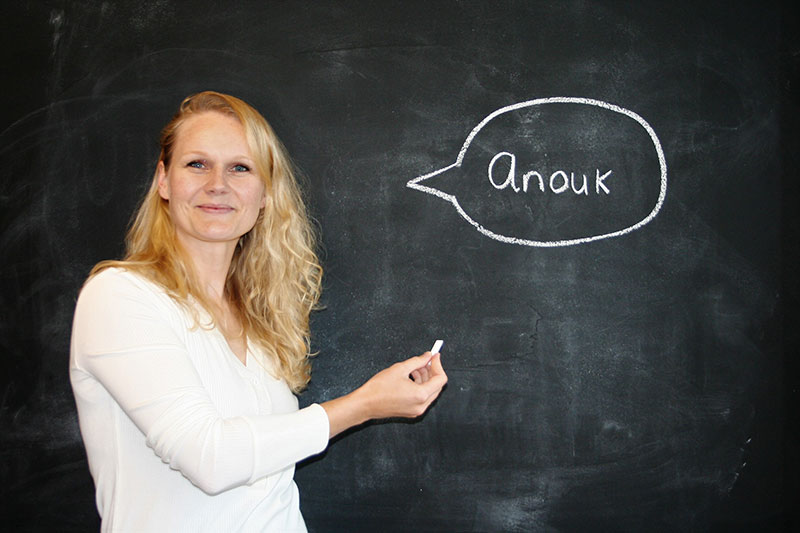 Studiecoach Anouk coördinator studiebegeleiding en bijles van StudieSucces