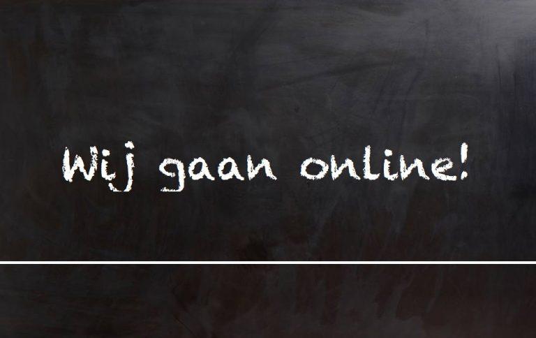 Wij gaan online